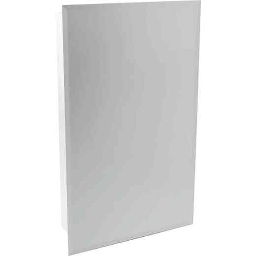 Continental Cabinets Frameless Beveled 16 In. W x 26 In. H x 4-1/2 In. D Single Mirror Surface/Recess Mount Medicine Cabinet